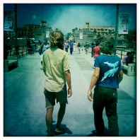 Chris & Howie on HB Pier
