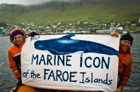 Marine Icon of the Faroe Islands